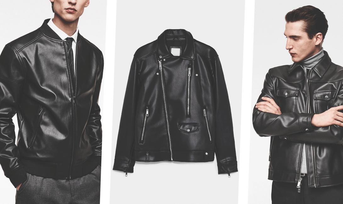 Черные стильные кожаные куртки. картинки brodude