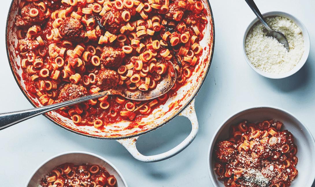 «Взрослые» спагетти