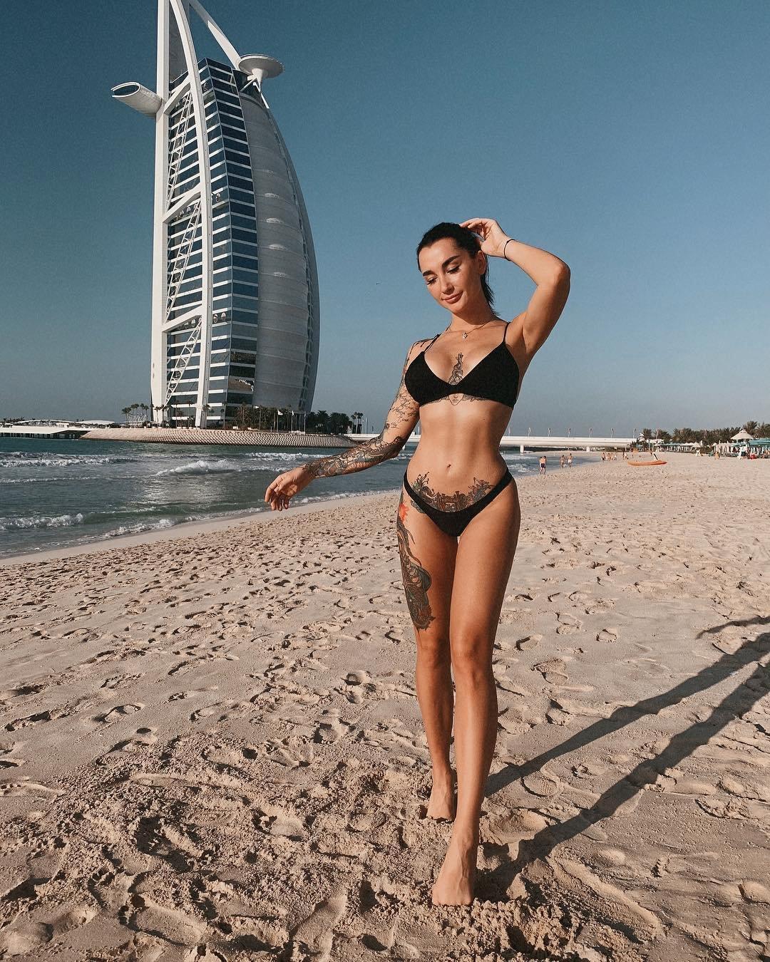 Анжелика Андерсон в ОАЭ