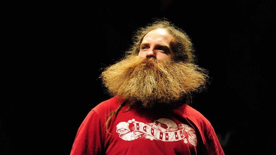 Борода лопатой фото