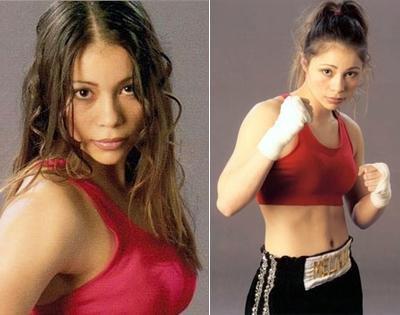 Девушки в боксе. Фото 1