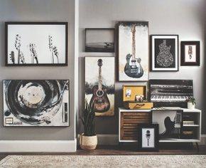 Как разнообразить интерьер своего дома с помощью постеров и холстов от U4U