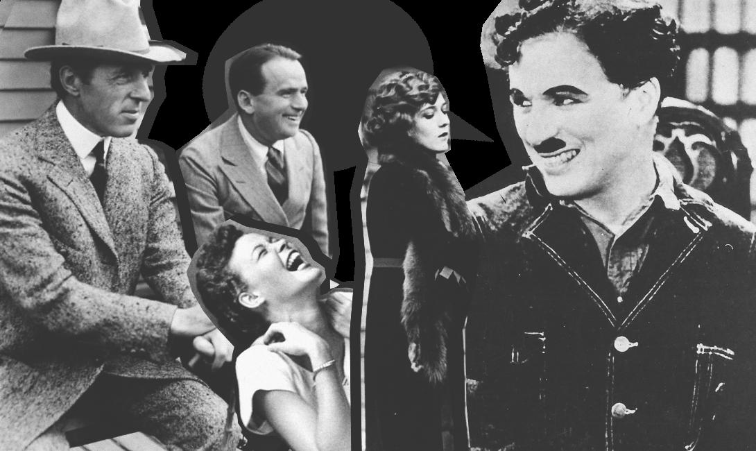 Смех продлевает жизнь, фото комиков 20 века