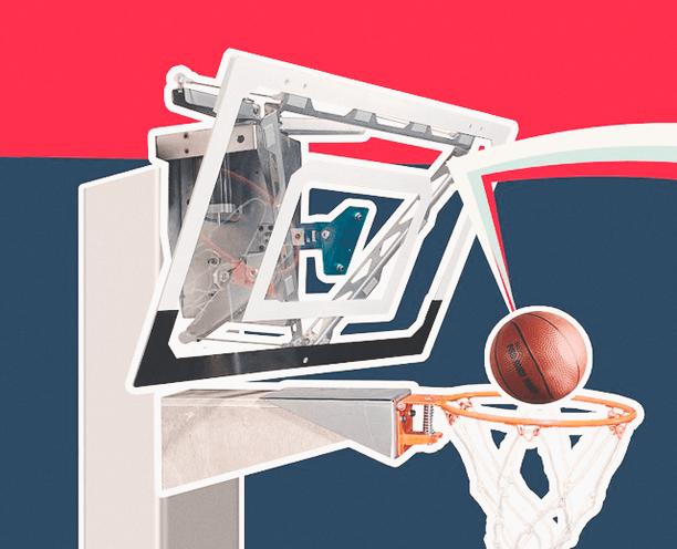Инженер изобрёл баскетбольное кольцо, в которое невозможно не попасть