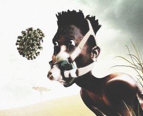 Современные художники изобразили, как нужно бороться с пандемией