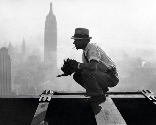 фотограф на крыше