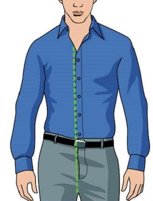 Как правильно заправлять рубашку