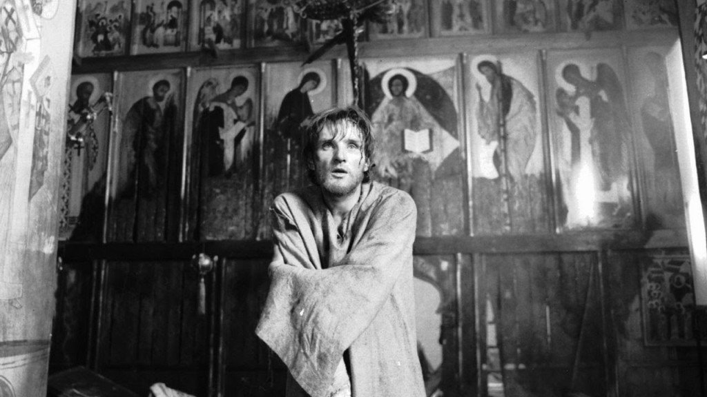 """Андрей Рублёв"", кадр из фильма"
