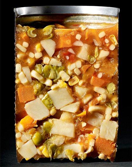 Консервированный суп