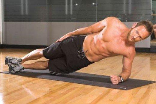 упражнения на косые мышцы