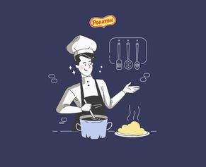 Твой идеальный рецепт: генератор простых и вкусных блюд от «Роллтон»