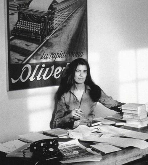 Сьюзан Зонтаг, писательница