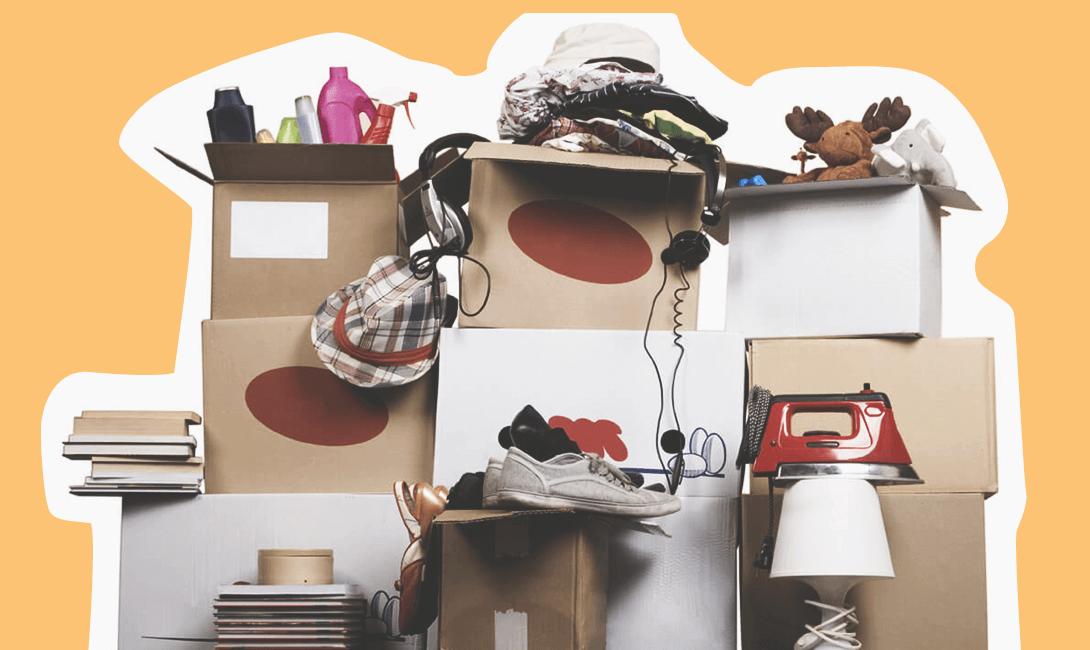 Сбор вещей для переезда